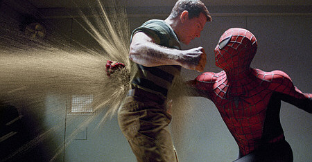 Spider Man vs San Man