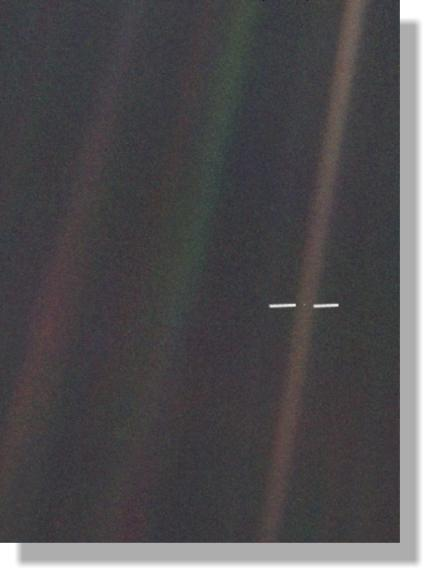 Pale Blue Dot - Earth